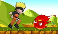 Naruto court et combat