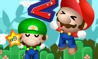 Mario saute très haut