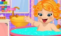 Soin et bain de bébé Emma