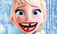 Dentiste pour Elsa la reine des neiges