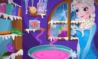 Elsa prépare une potion magique