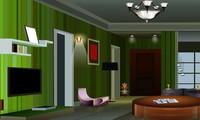 Evasion appartement vert