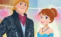 Décoration pour le mariage d'Anna reine des neiges
