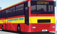 Garer un bus d'aéroport