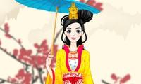 Habillage princesse chinoise
