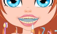Soins dentaires pour fille
