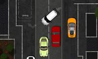Garer une voiture dans une rue