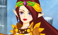 Habillage princesse guerrière