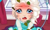 Soigner bébé Elsa la reine des neiges