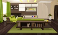 Sortir de la maison verte