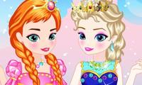 Habillage bébé Elsa et Anna