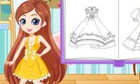Création de robe manga