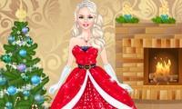 Habillage princesse de noël
