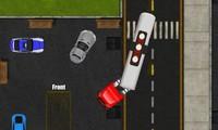 Parking de camion avec remorque