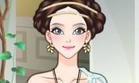 Maquillage fille grecque