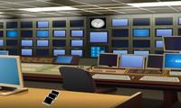 Evasion du studio de télévision
