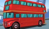 Bus londonien en ville