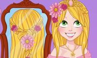 Tresses de mariage de princesse Raiponce