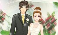 Couple à habiller pour un mariage
