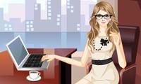Habillage femme d'affaires