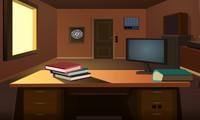 Enigmes à résoudre dans un bureau