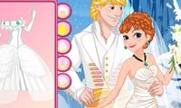 Mariage Anna reine des neiges