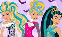 Habillage princesse Disney en Monster High