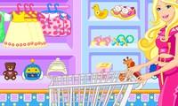 Barbie fait du shopping pour son bébé