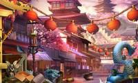 Objets cachés dans un temple bouddhiste
