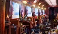 Objets cachés dans un train mystérieux