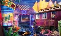 Objets cachés dans un cirque