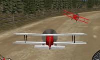 Course réaliste d'avions 3D
