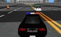 Poursuite en voiture de police 3D