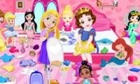 Nettoyer la chambre des petites princesses Disney