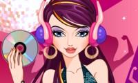 Stylisme de fille DJ