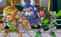 Combat de robot ninja