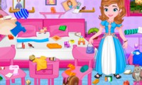 Ranger la chambre de princesse Sofia
