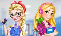 Relooking Elsa et Raiponce