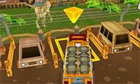 Parking de camion 3D au Jurassic Park