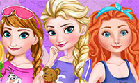 Soirée Pyjama des princesses Disney