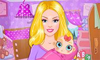 Décoration chambre du bébé de Barbie