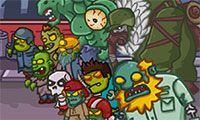 Invasion de zombies en ville