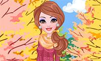 Habillage et maquillage d'automne