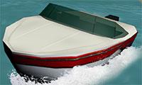 Conduite de bateau 3D