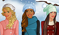 Habiller 3 copines pour l'hiver