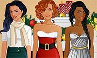 Habiller 3 copines pour Noël