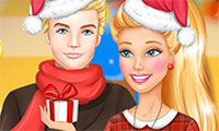 Habiller Barbie pour Noël