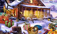 Objets cachés vacances de Noël