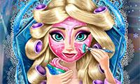 Elsa vrai maquillage