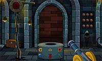 Prisonnier dans un chateau